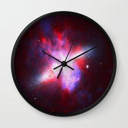 Cosmic Implosion Wall Clock