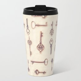 Keys to My Heart Travel Mug