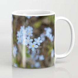 3 Forget-Me-Nots in the Center Coffee Mug