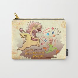 Cecil the Lion's Social Networks Revenge Carry-All Pouch
