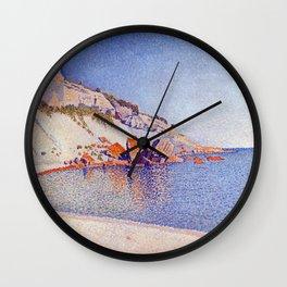 Paul Signac Cassis, Cap Lombard, Opus 196 Wall Clock