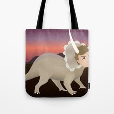 Michael Ceratops Tote Bag