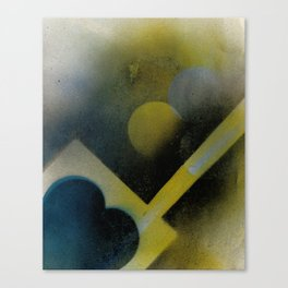Night Rays Canvas Print