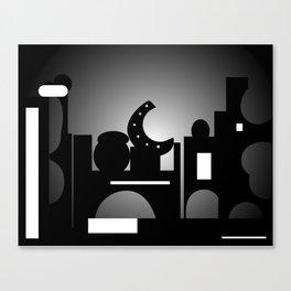Night Time Bazaar Canvas Print