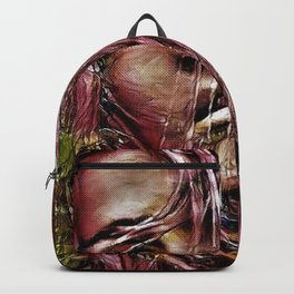 Lebanese Blonde Portrait by Jeanpaul Ferro Backpack
