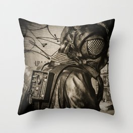 Man In Fly Costume Throw Pillow