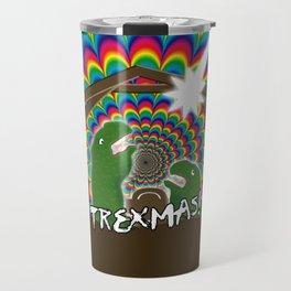 Merr-roary T-ReXmas! Travel Mug