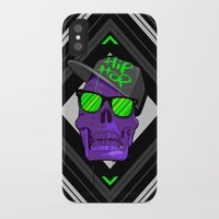 hip hop iPhone & iPod Cases featuring Hip Hop 4 life by Mike Karolos