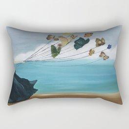 Butterfly Baloon Rectangular Pillow