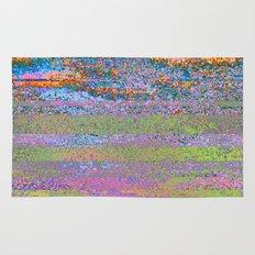 51-23-76 (Pastel Rainbow Glitch) Rug