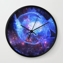 MEDUZA IN SPACE Wall Clock