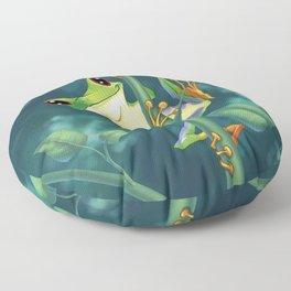 I love Being Green! Floor Pillow