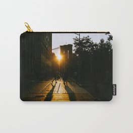 Shadowplay in the Golden Hour Carry-All Pouch
