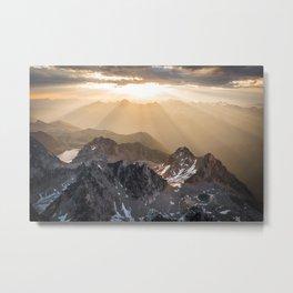 Bugaboo sunrise Metal Print