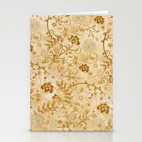 floral pattern Stationery Cards featuring Floral pattern by nicky2342