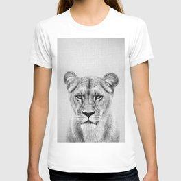Lioness - Black & White T-shirt