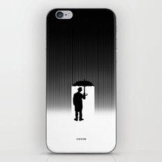 Charlie Chaplin Under The Rain iPhone & iPod Skin