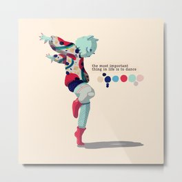 I'll dance all my life Metal Print