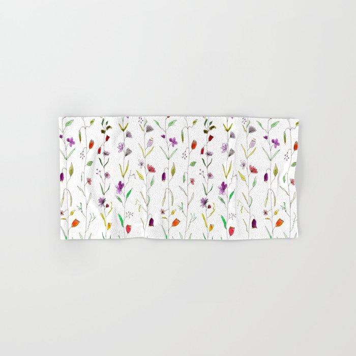 Floral pattern Hand & Bath Towel