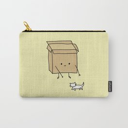 Boxes love cats Carry-All Pouch