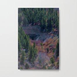 Colorful Canyon Metal Print