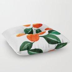 Orange Tree Floor Pillow