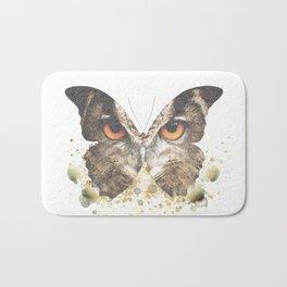 Wise & Free - Owl Butterfly Bath Mat