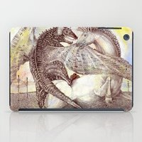 fight iPad Cases featuring Fight. by Nato Gomes