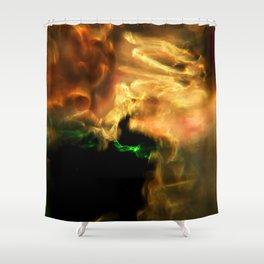Molten Glow Shower Curtain