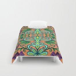 Tropical Fiesta Floral Comforters