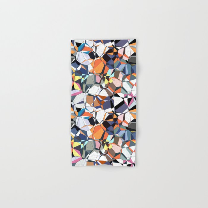 Abstract Geometric Chaos Hand & Bath Towel