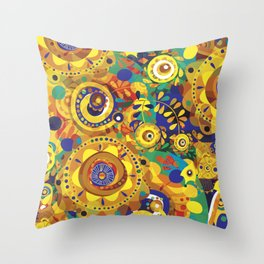 Pra Oxum Throw Pillow