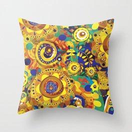 Pra Oxum Throw Pillow