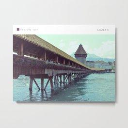 Pantone: Luzern Metal Print
