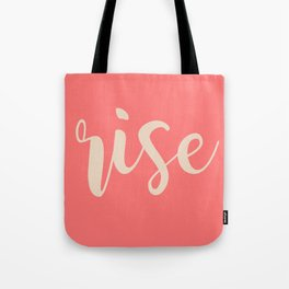 CONNECTED WOMEN RISE Tote Bag