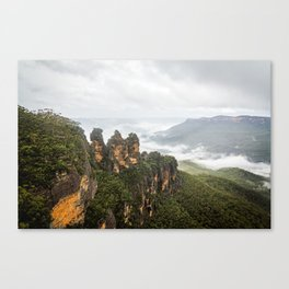 Three Sisters- Blue Mountains Canvas Print