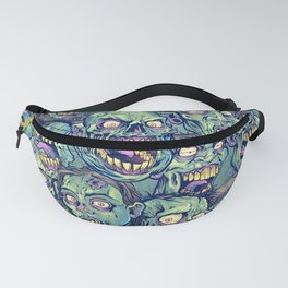 Zombie Repeatable Pattern Fanny Pack