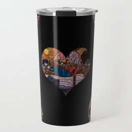 Oriental Houses  Travel Mug