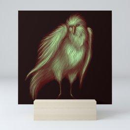 I shine through the night Mini Art Print