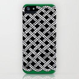 Green Snake Design iPhone Case