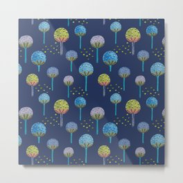 Lollipop Trees Metal Print