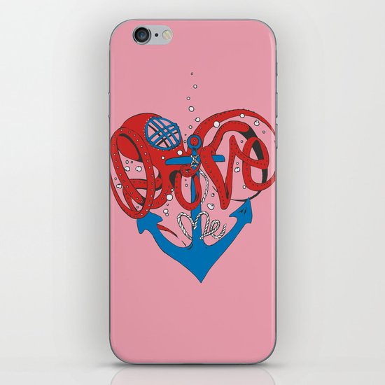 Deeply in Love iPhone & iPod Skin