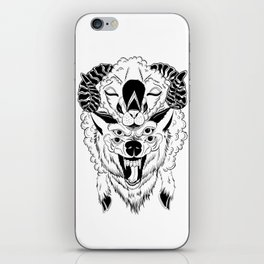 The Wolf In Sheep's clothing iPhone Skin