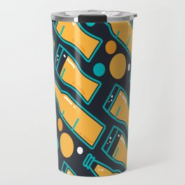 October Fest Pattern Travel Mug