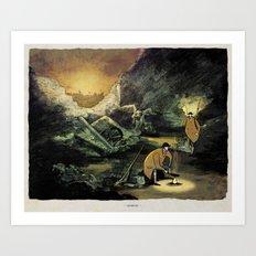 World At War - 'Cookout' Art Print