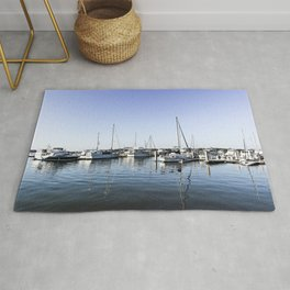 Boats of Beaufort Rug