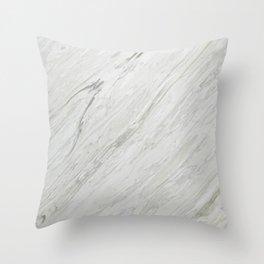 CALACATTA BLUETTE Throw Pillow
