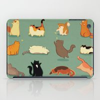 fat iPad Cases featuring Fat Cats by Kecky