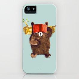 No Care Bear - My Sleepy Pet iPhone Case