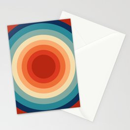 Concentric Circles #1 Stationery Cards